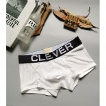 Boxer Clever Hombre Blanco Negro